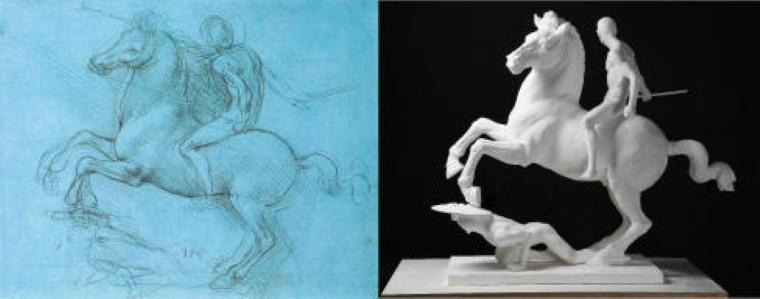 東京造形大学「Zokei Da Vinci Project」が世界初、未完のダ・ヴィンチ作品など約30作品を復元