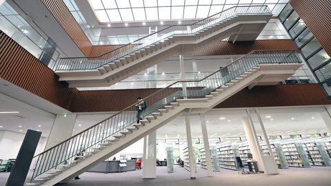 【中止】青山学院大学が2月、3月に相模原キャンパスの万代記念図書館を大学受験生に開放