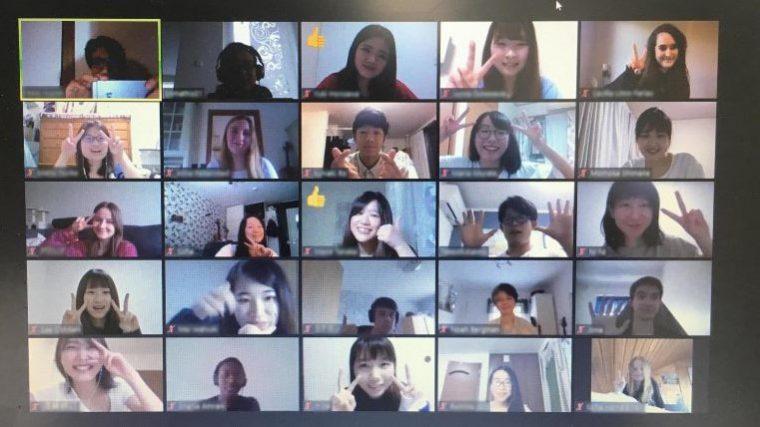北欧諸国の高校・大学とオンラインで連携を継続 ~明治大学国際日本学部:鈴木賢志ゼミナールの取り組み