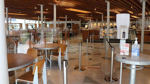 千葉商科大学の学生食堂「The University DINING」がビジュアルの力で〈コロナ禍でも気持ちを前向きにする啓発活動〉を推進