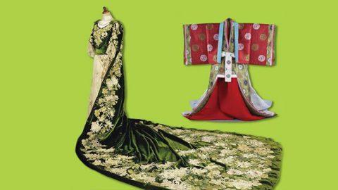 共立女子大学博物館が5月20日まで「和と洋が出会う博物館 共立女子大学コレクション・5 ―宮廷の服飾 ― 」を開催