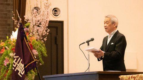 武蔵高等学校中学校 杉山校長からのメッセージ 「まだ何者でもない10代をどのように生きるのか」