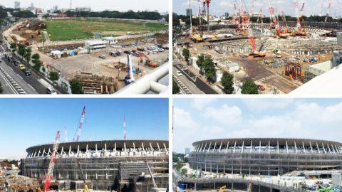"""""""2020年への記録"""" 東洋学園大学「新国立競技場建設 定点観測プロジェクト」"""