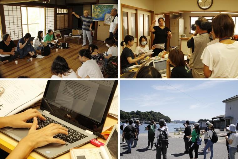 ハンセン病資料 英訳で世界へ。大手前大学の学生たちが長島愛生園や邑久光明園を訪問