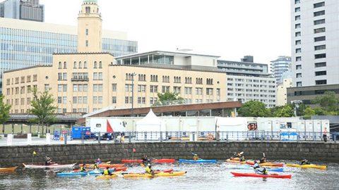 神奈川大学と山形大学の学生が8月29日~9月1日まで横浜港で「海の体験学習」に参加