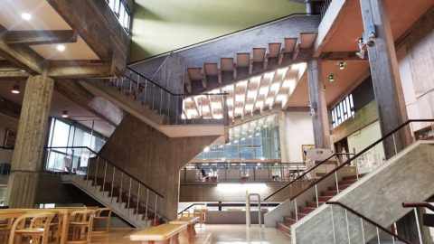 金沢工業大学本館(現・1号館)が「日本におけるモダン・ムーブメントの建築226選」に選定
