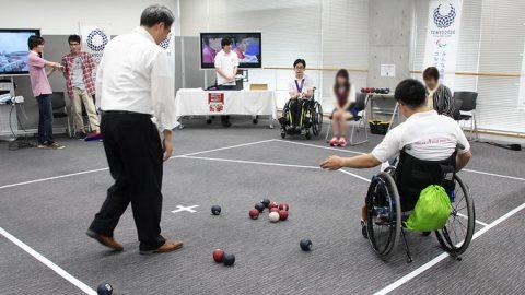 東洋学園大学が東京都主催のパラスポーツイベント『BEYOND PARK 秋葉原』に参加 ~9月23日べルサール秋葉原にて