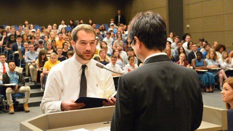 関西外国語大学のダブル・ディグリープログラムが始動 ~第1号の留学生が英語キャリア学科3年次に編入学