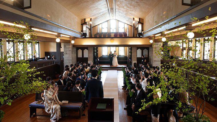 川村学園女子大学の学生がつくる「本物の結婚式」を自由学園明日館で一般公開