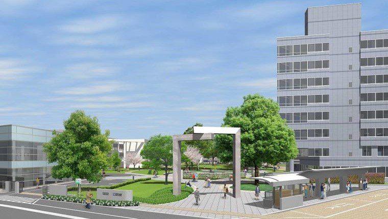 江戸川大学駒木キャンパスがリニューアル ~開学30周年を迎える2020年5月に完成予定