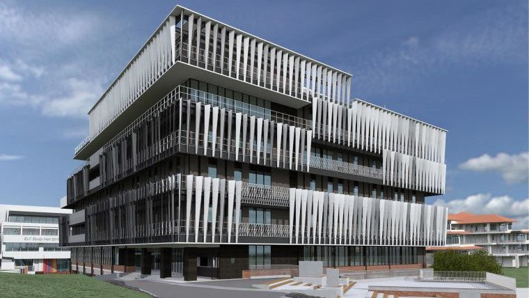 玉川大学独自の「ESTEAM教育」を推進し、Society5.0を見据えた教育を展開する施設「STREAM Hall 2019」がまもなく完成、2020年4月運用開始