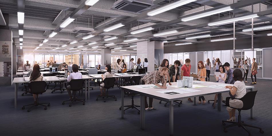 芝浦工業大学創立100周年プロジェクト ~2022年4月開設予定「豊洲第二校舎(仮称)」が着工