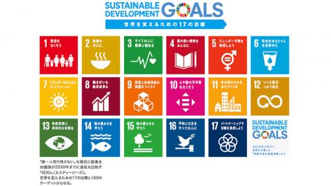 世界を変えるための17の目標「SDGs(エス・ディージーズ)」